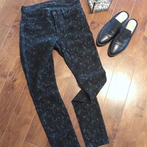 ✨7 For Mankind- Emerald Lace Pants ✨